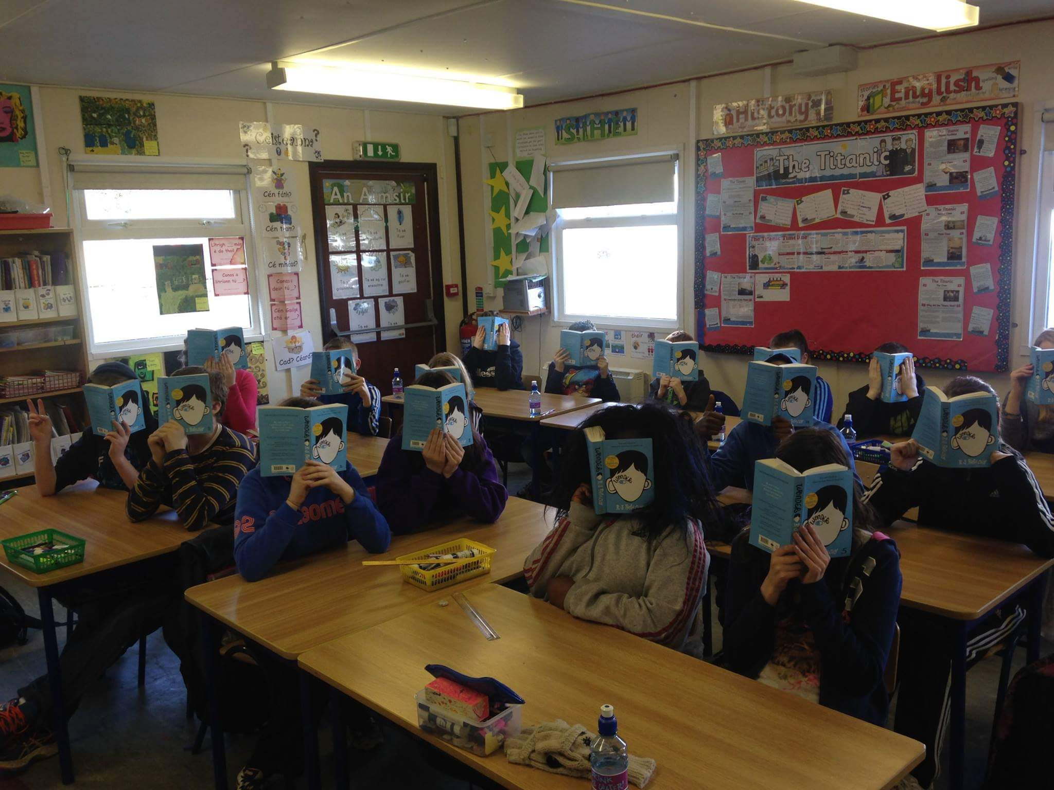 Some of our eager readers from READ DL 2016!